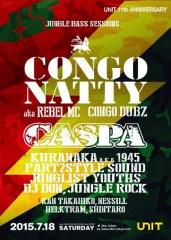 ジャングルの帝王、コンゴ・ナッティー、ダブステップのベテラン、キャスパが来日!