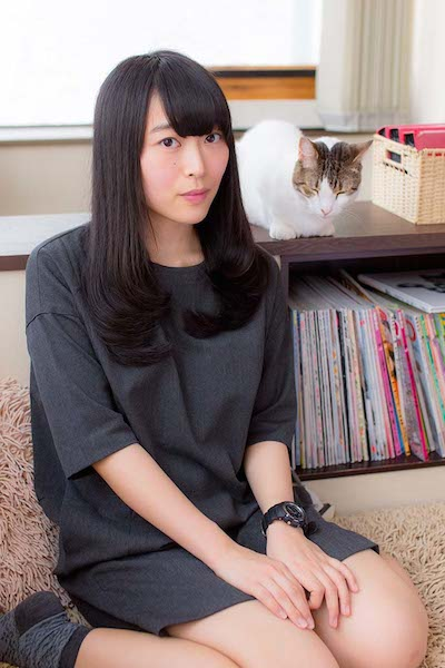 ぱいぱいでか美、ファズミサキ(ぽわん)ら女子6人×猫がコラボ! 〈猫踏まれちゃった展〉開催