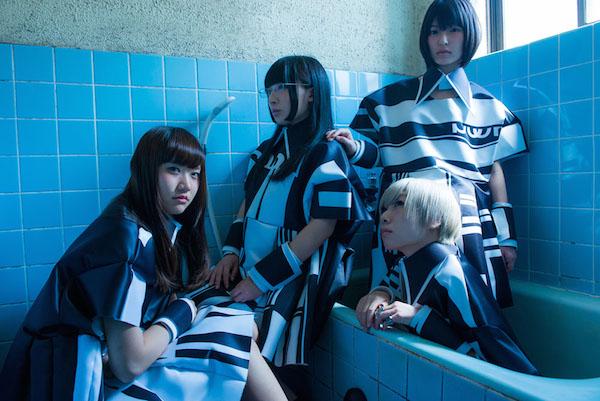 Maison book girl、1stアルバム『bath room』全国流通で発売&東阪でリリイベも