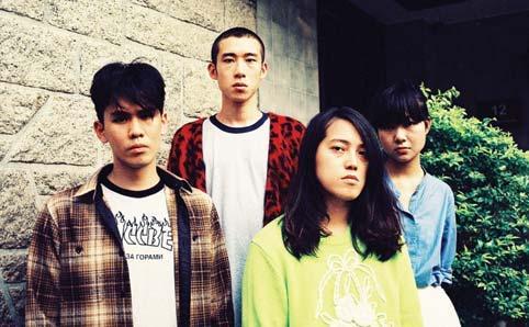 ジザメリのオープニング・アクトにも抜擢、香港で活躍のオルタナ2組が来日ツアー