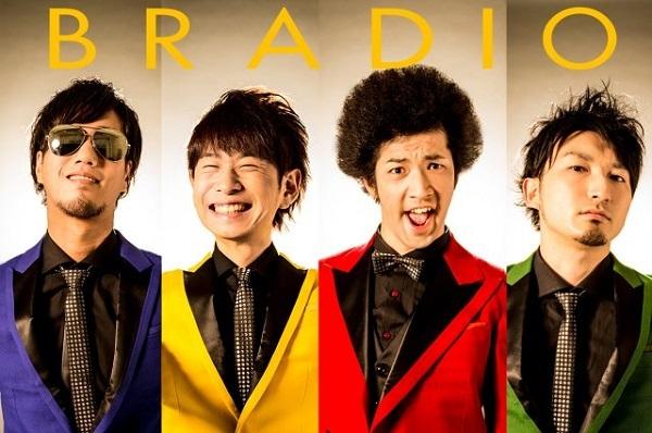 BRADIOが東名阪2マン・ツアー開催 ゲストにNegicco、ザチャレら