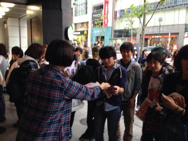 大森玲子,在涩谷出生的校外分布!赤坂BLITZ一人也决定了