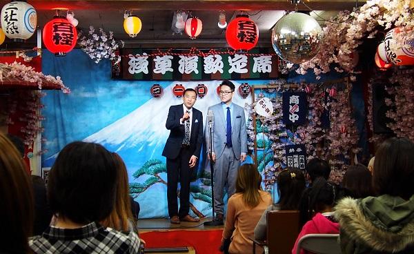ナイツ、ホームタウン浅草でアットホームな爆笑イベント-OTOTOYライヴレポ