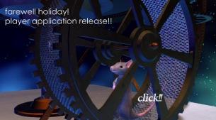 """""""クリックし続けないと聴けない!?""""DE DE MOUSE 新作 『farewell holiday!』試聴WEBアプリを発表"""