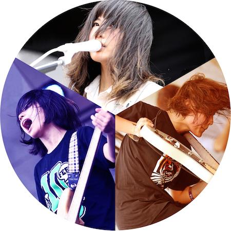 tricot 「MUSIC JAPAN」に出演