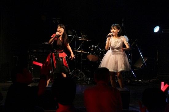 【ライヴ・レポート】アニソン歌手・菜苗、生誕ライヴで初の全国流通音源『Happy together』発売を発表