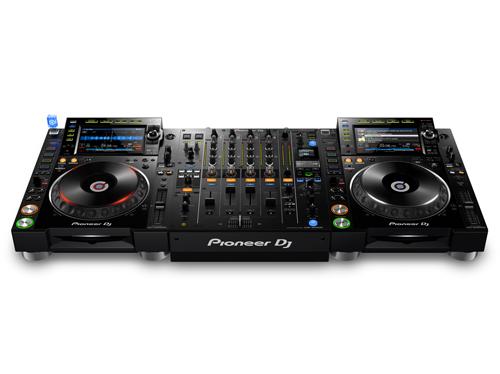 Pioneer DJ、CDJ新フラッグシップ機 & 新ミキサーでハイレゾ(24bit/96kHz)対応、ALAC、FLAC再生も!