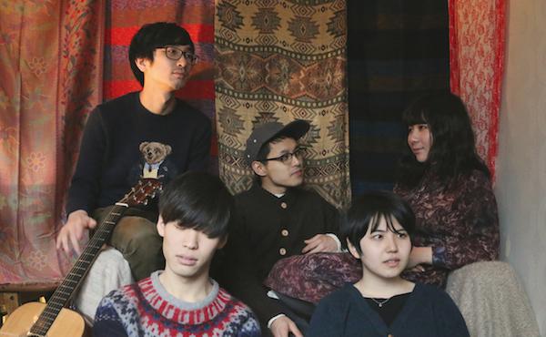 """ネオ・フォーク奏でる京都の5人組""""Easy Yoke"""" 1stEP『Soft Laws』リリース"""