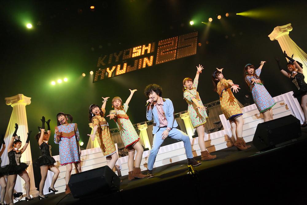 清 竜人25、中野サンプラザ公演ライヴ・レポ&デュエット曲配信開始!