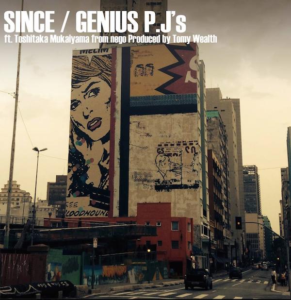 Genius P.J' s、4作目のシングルを6月にリリース
