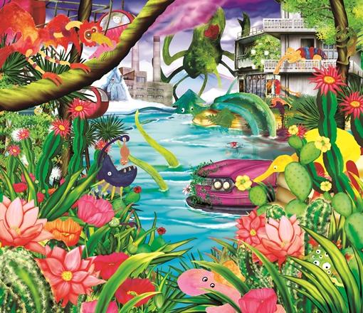 水曜日のカンパネラ、新アルバム『UMA』ジャケ写を公開