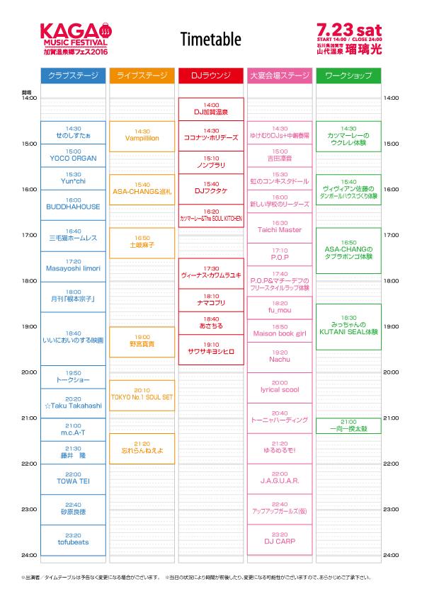 〈加賀温泉郷フェス2016〉最終出演アーティストに忘れらんねえよ、Maison book girlら決定