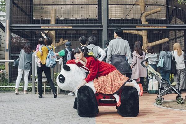 杏窪彌『ジャイアントパンダにのってみたい』ハイレゾ配信開始、OTOTOY連載企画「みん散歩」も公開中