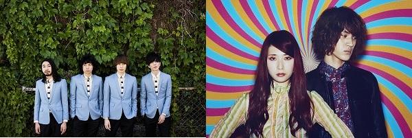 リキッドルーム12周年記念公演でTHE BAWDIES × GLIM SPANKY決定