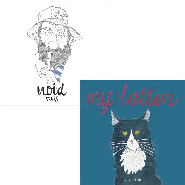 my letter、noidとのスプリット7インチからMV「ストロボ」を公開