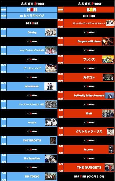 新宿LOFT40周年イベント〈東京STREET2016〉、最終ラインナップでベイビーレイズJAPANが決定!