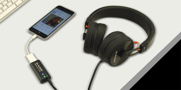 実売価格9,980円の小型DAC、〈Micro DAC 24/192〉M-Audioより発売