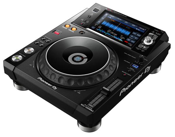 ALAC、FLAC対応DJ用マルチ・ファイル・プレーヤー「XDJ-1000MK2」、Pioneer DJが9月中旬リリース!