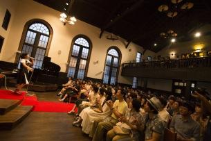 音沙汰が歴史的建造物での公演を収めた初のライヴ盤発売、新曲も収録