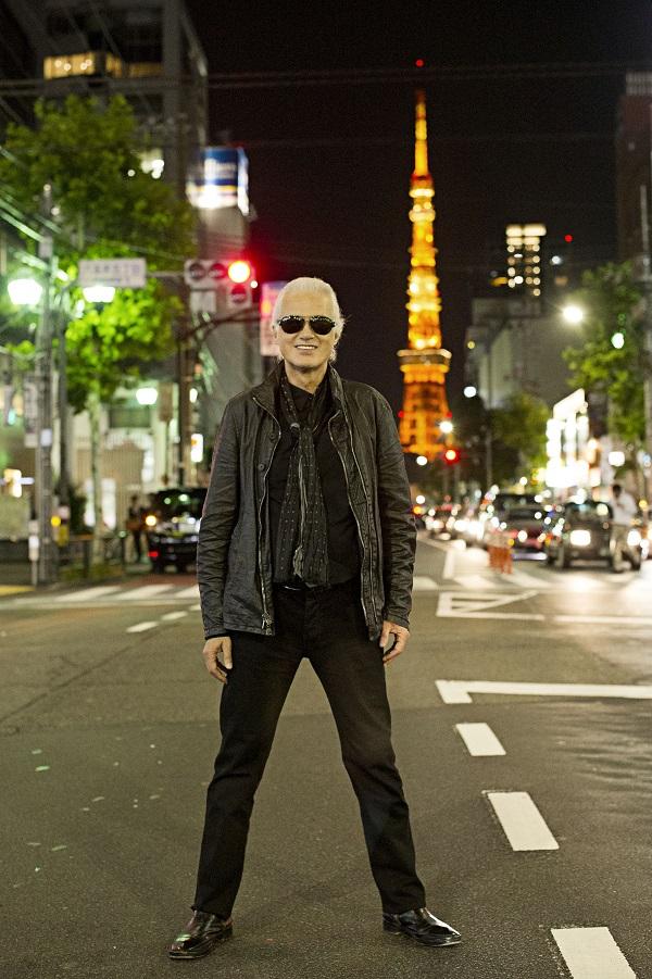 ジミー・ペイジ、20年ぶり日本でのライヴ決定、ジェフ・ベックと日本初共演も