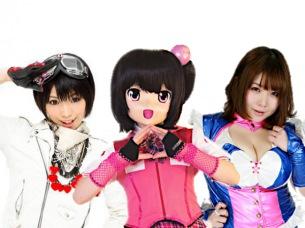 【超次元的アニソン系PARTYユニット】カワイイカンジジャパン☆DA 誕生〈DDTフェス2016〉でお披露目ライヴ