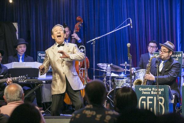 【小松の親分さん】小松政夫 36年ぶりのシングルでGentle Forest Jazz Bandとコラボ
