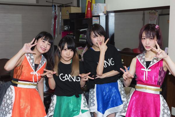 GANG PARADE、新メンバーを加え再スタートを切った名古屋ワンマンーーOTOTOYライヴレポ