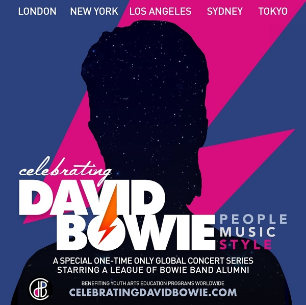 〈CELEBRATING DAVID BOWIE JAPAN〉ゲストに田島貴男、吉井和哉、三船雅也ら出演