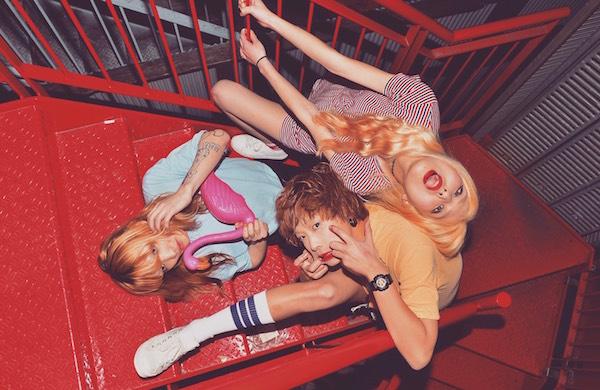 ローファイ&サーフポップ! トリプル・ヴォーカルThe Rougesが新作EPリリース
