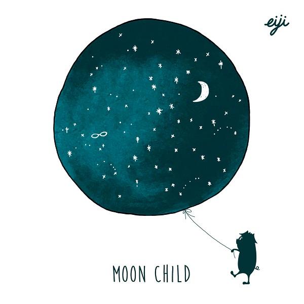 DachamboのベーシストEIJI SUZUKI 4枚目のアルバム『MOON CHILD』発売決定