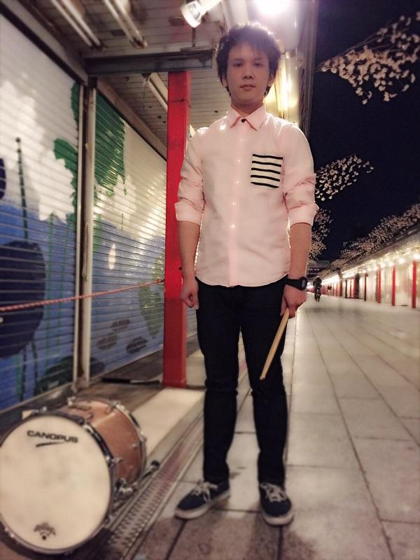 【誰だおまえは】 ドラマー堀内俊聡、うっかりイケメン化