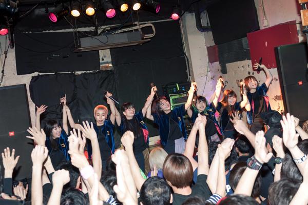 GANG PARADE、2度目の全国ツアー名古屋編ーー7人でたくさんの笑顔をみんなに届けたい