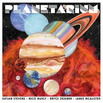 """スフィアン・スティーヴンスがカルテット体制で臨んだ衝撃作より、次なる""""惑星""""を公開"""