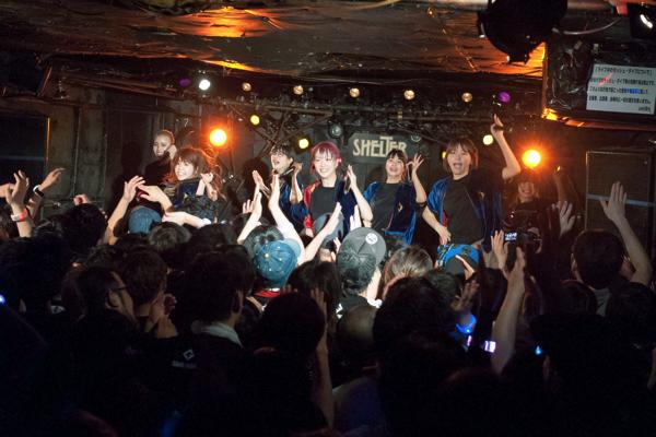 GANG PARADE、2度目の全国ツアー東京編ーー私たち7人の描く線はこれからもまだまだ続く