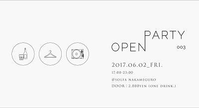 若者のファッションが生まれる場〈OPEN PARTY 003〉、ゲストはZOMBIE-CHANG
