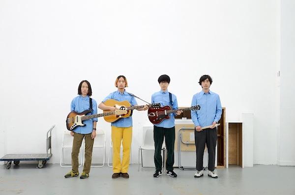 シャムキャッツ、新アルバム『Friends Again』のジャケ写&収録曲発表