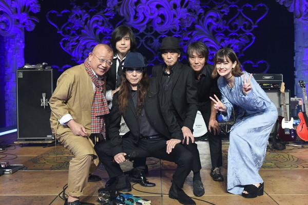 エレファントカシマシ、TBS『A-Studio』出演で鶴瓶と遭遇