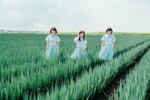 "Negicco、結成15年目記念のベスト盤ジャケは""壮大なネギ畑""で撮影"