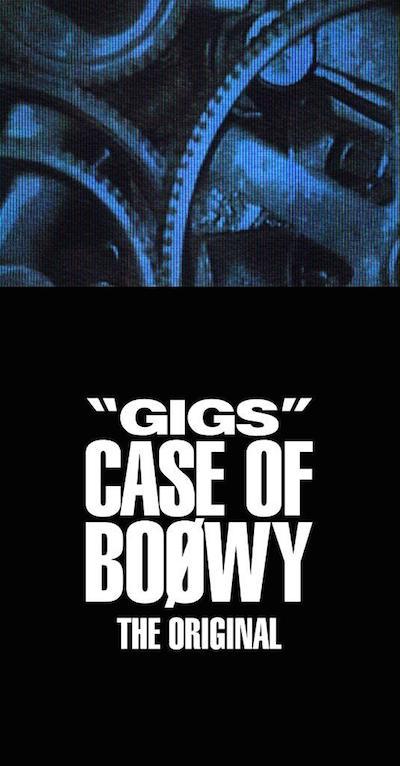 "BOØWY、1987年7月31日&8月7日『""GIGS"" CASE OF BOØWY』全曲を収録したアルバム発売"