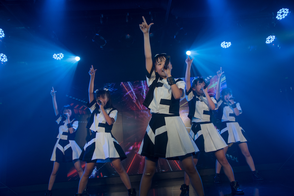パンダみっく、1周年記念ワンマンで新曲「白黒イエスノー」披露、11月に初CDリリースも決定