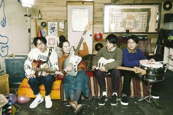 台湾インディー・ポップ・バンド「雀斑 Freckles」新作発売 LUCKY TAPESを迎えリリパも開催
