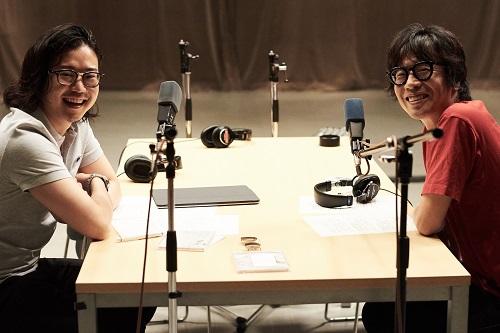 岸田繁(くるり)×反田恭平、異端な音楽家同士が初対談で大いに盛り上がる!