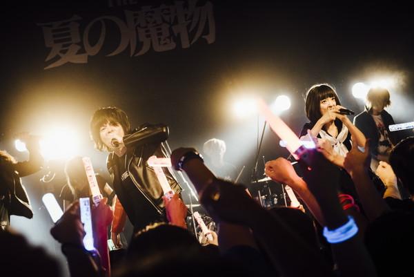 """""""これからも走り続けます!""""THE 夏の魔物、渋谷WWWワンマンでツアー・ファイナル大成功 「バズリズム」出演も決定―OTOTOYライヴレポ"""