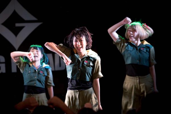 GANG PARADE、3度目の全国ツアー名古屋編ーー甘かった自分やそんな自分自身を越えるために