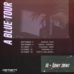 IOとDONY JOINTによる全国5都市をまわる、ジョイント・ツアーの開催が決定
