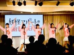 「ミスiD」5人によるWi-Fi-5が初ライヴ デビュー曲「始まりのカレッジ」を披露