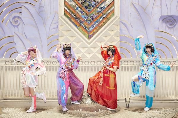 ゆるめるモ!結成5周年記念で初のアジア・ツアー決定 台湾と韓国でワンマン