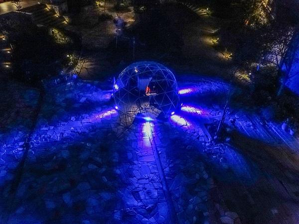 六甲山のアート・イベントで照明アーティスト伏見雅之×テルミン奏者クリテツがコラボ・イベント開催