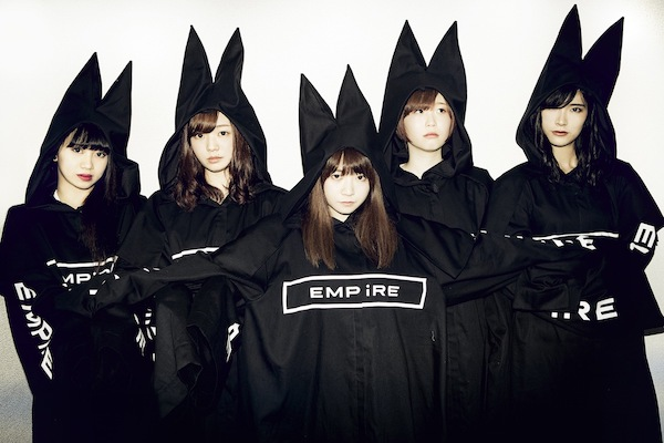 EMPiRE、初楽曲「EMPiRE is COMiNG」をフリーダウンロード