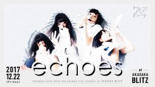 ヤナミュー、12月に赤坂BLITZで2ndワンマン〈echoes〉開催